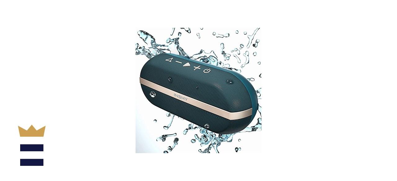 INSMY IPX7 Portable Speaker