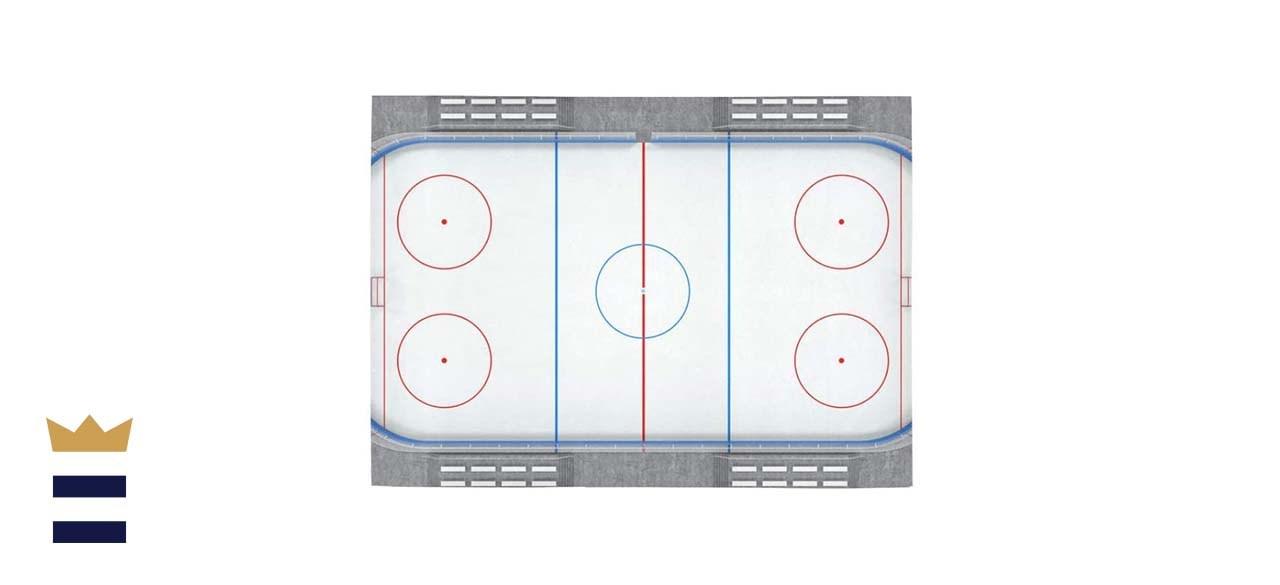 Fun Rugs On The Ice 1-Foot 7-Inch x 2-Foot 5-Inch Hockey Rug