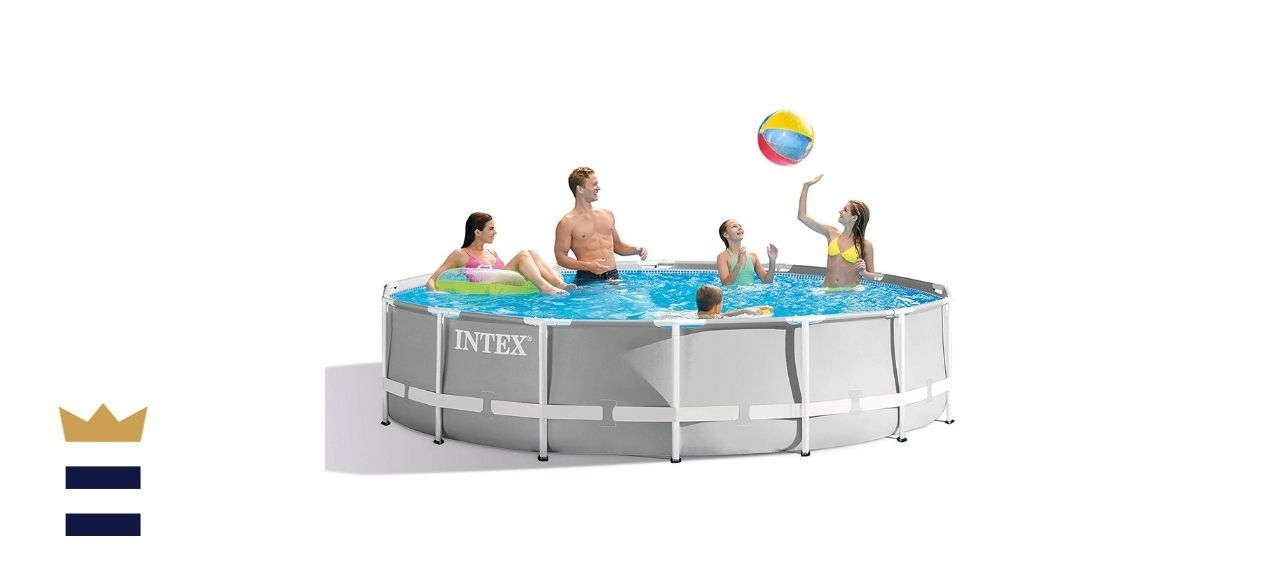 Intex 14ft x 42in Prism Frame Pool Set