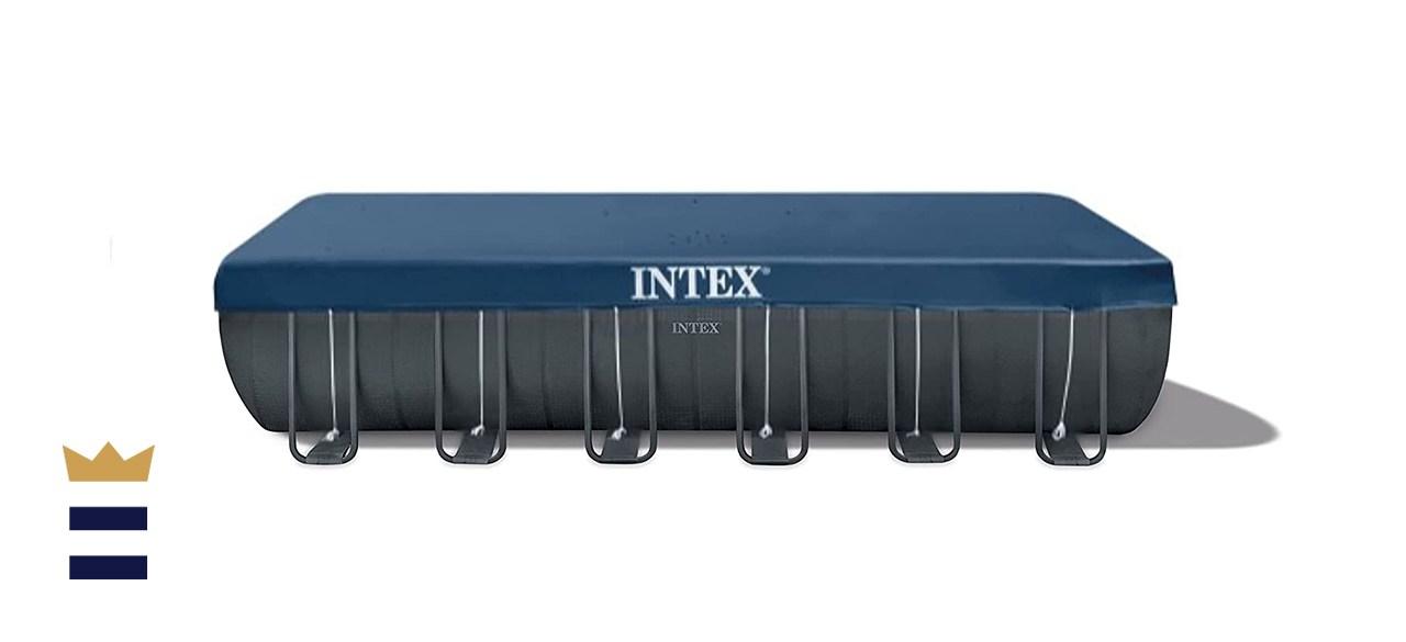 Intex 24ft X 12ft X 52in Ultra XTR Rectangular Set Pool