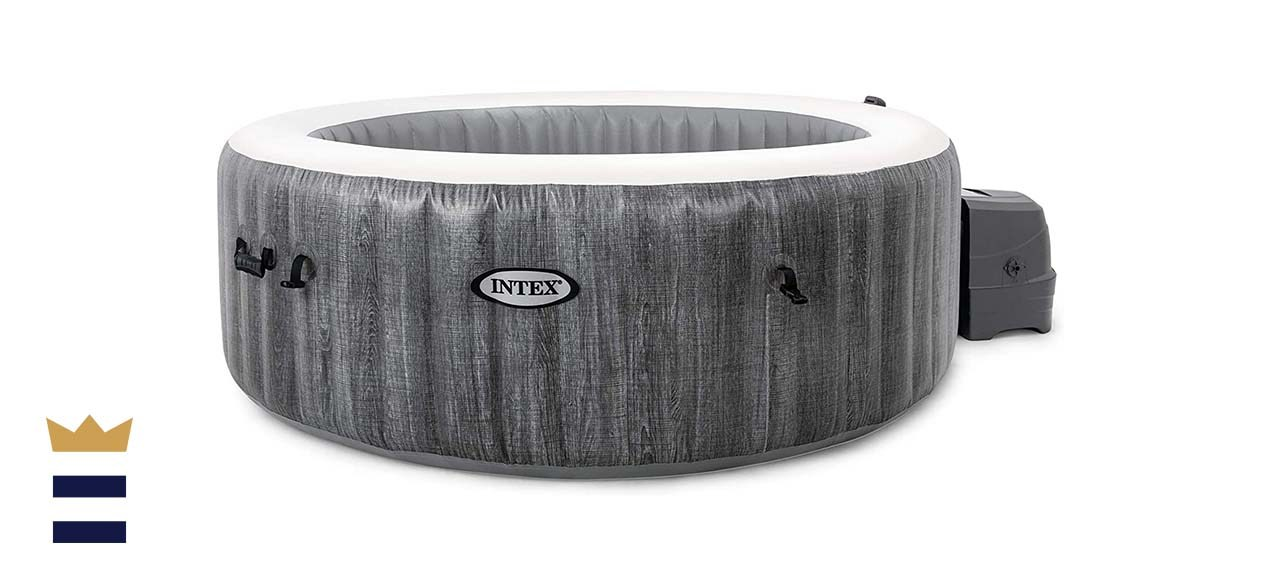 Intex Greywood Deluxe 4-Person Inflatable Hot Tub
