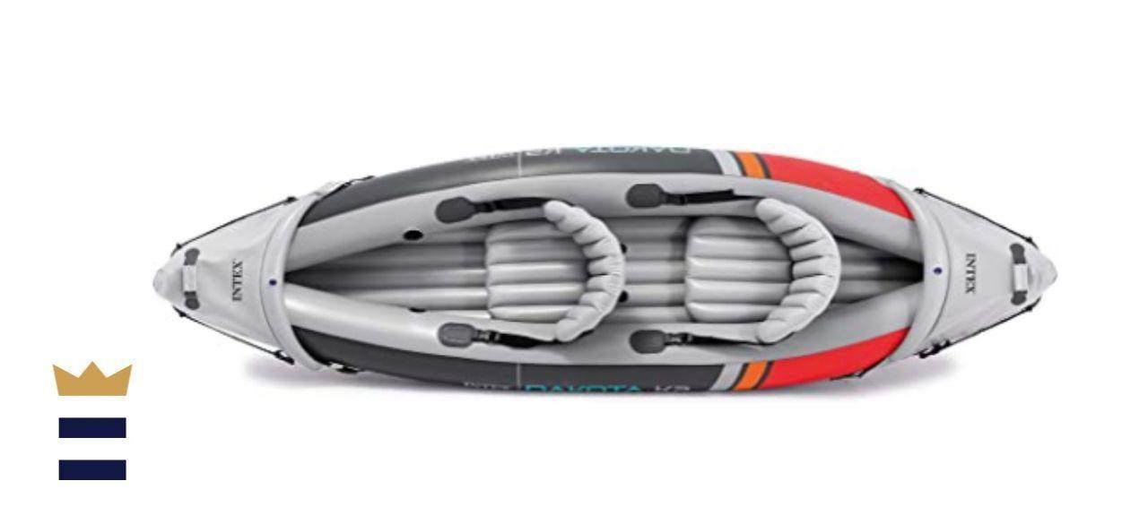 Intex 68310VM Dakota K2 2-Person Heavy-Duty Vinyl Inflatable Kayak