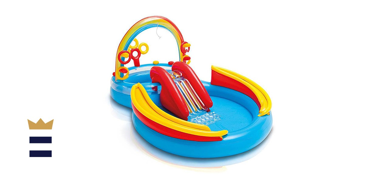 Intex rainbow slide