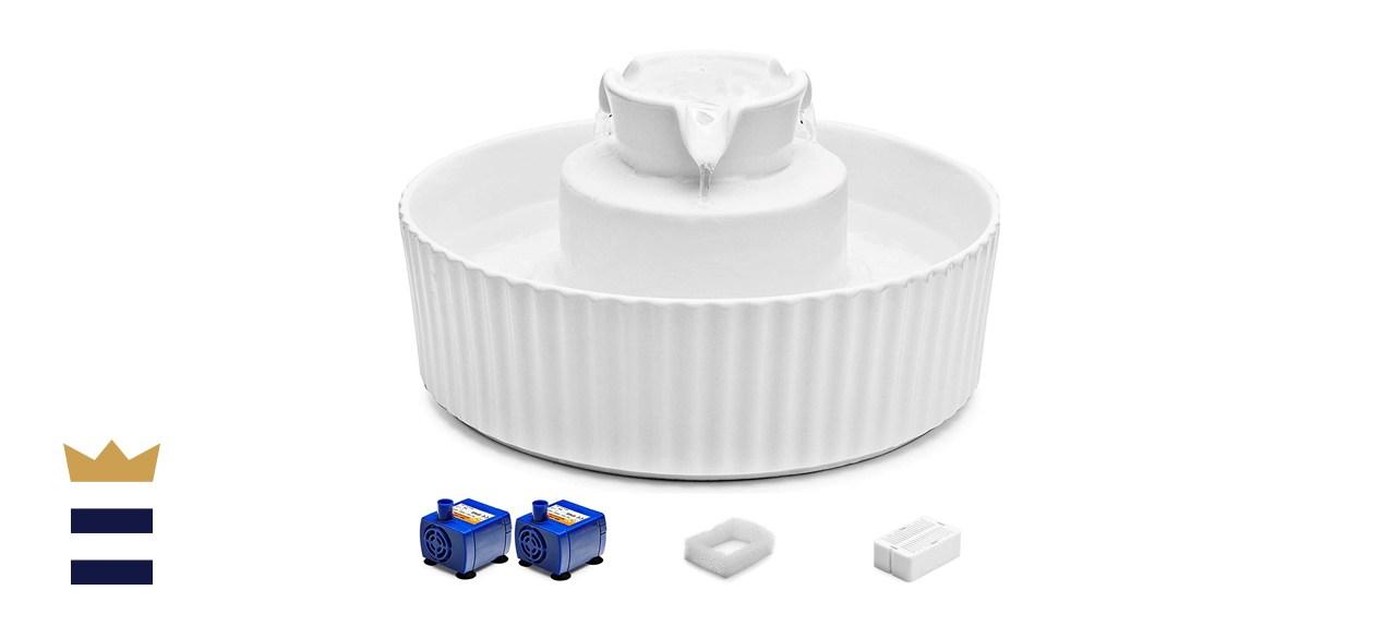 iPettie Cupcake Porcelain Pet Water Fountain