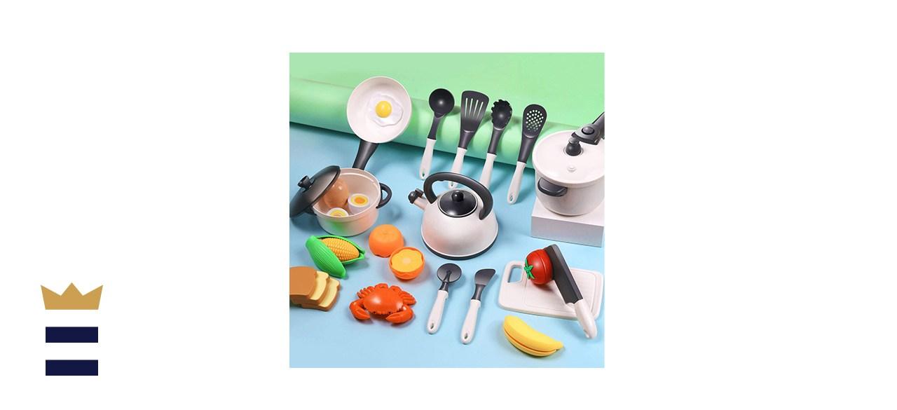 iPlay, iLearn Play Kitchen Accessories Set