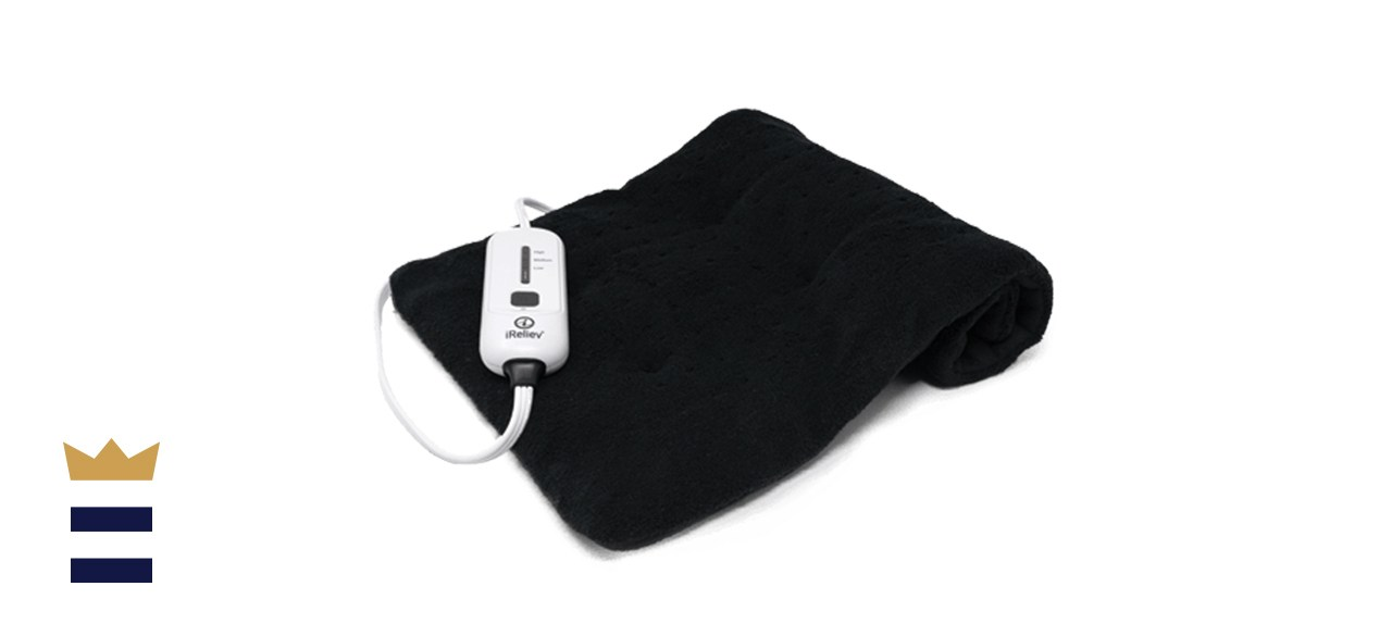iReliev Weighted Moist/Dry Heating Pad
