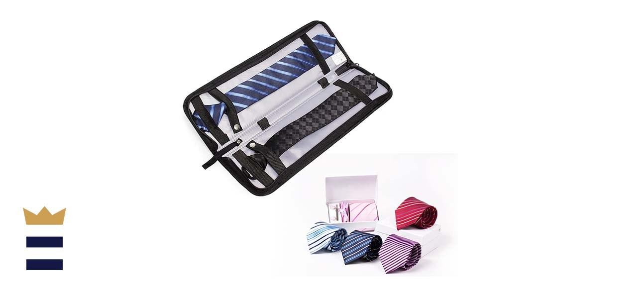 Iristide Portable Waterproof Travel Tie Case