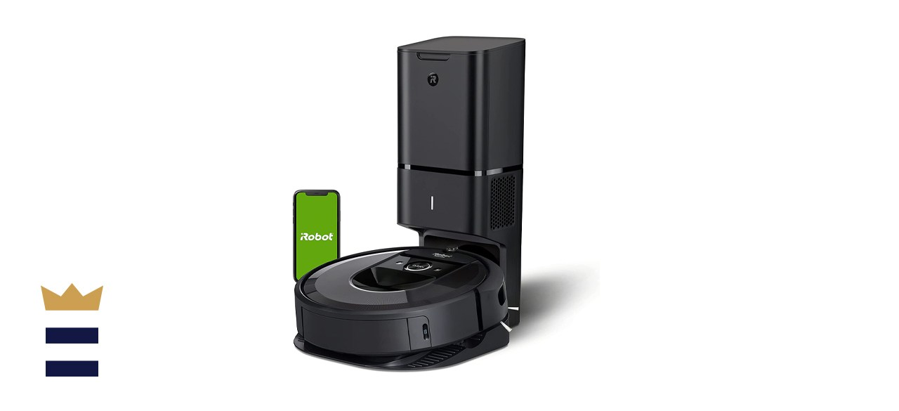 iRobot Roomba i7+ (7550) Wi-Fi Connected Robot Vacuum with Automatic Dirt Disposal