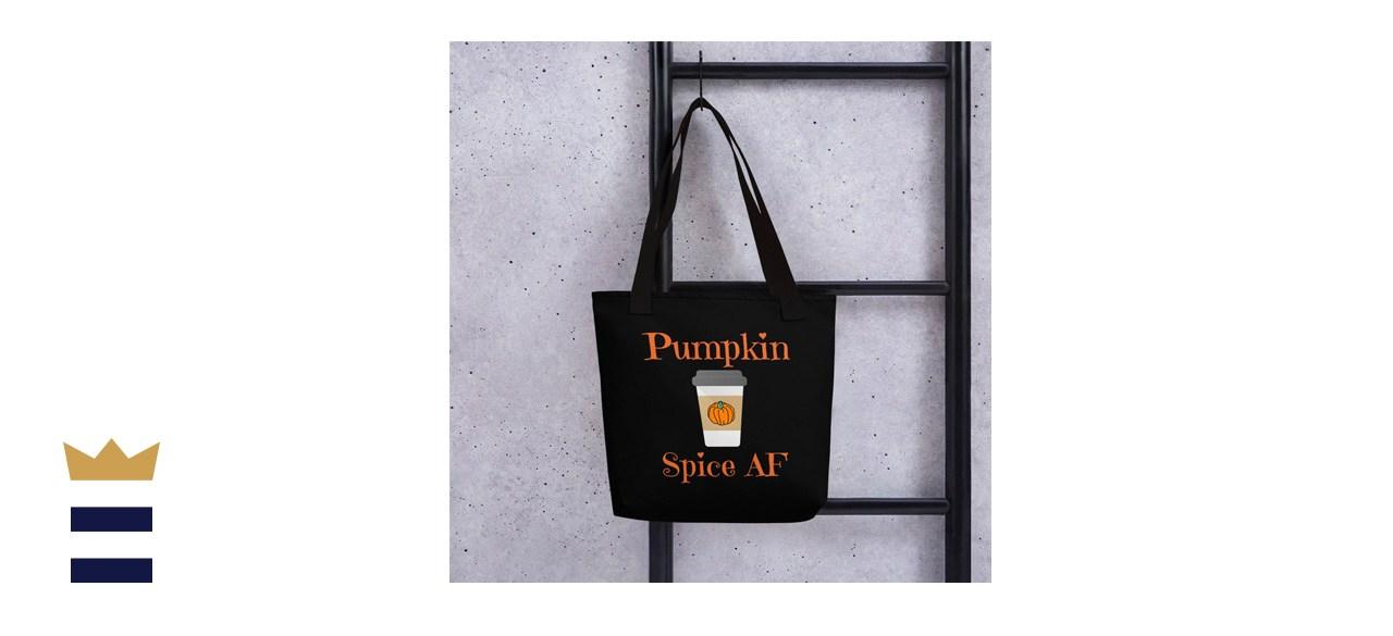 IronPickle Pumpkin Spice AF Tote Bag