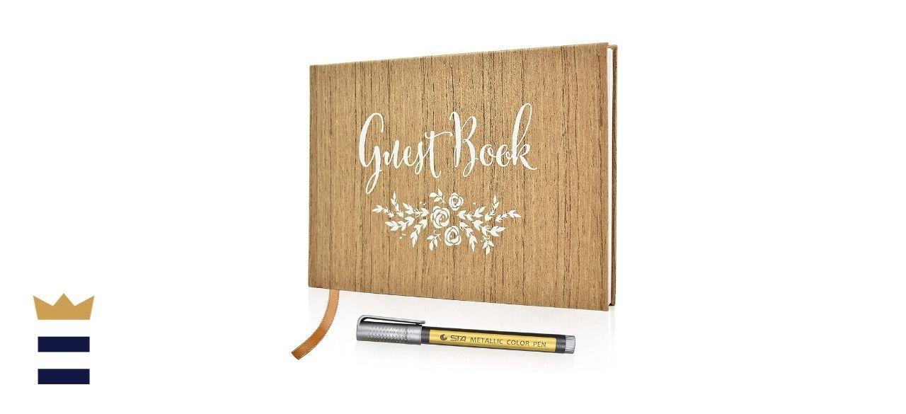 J&A Homes Polaroid Wedding Guest Book