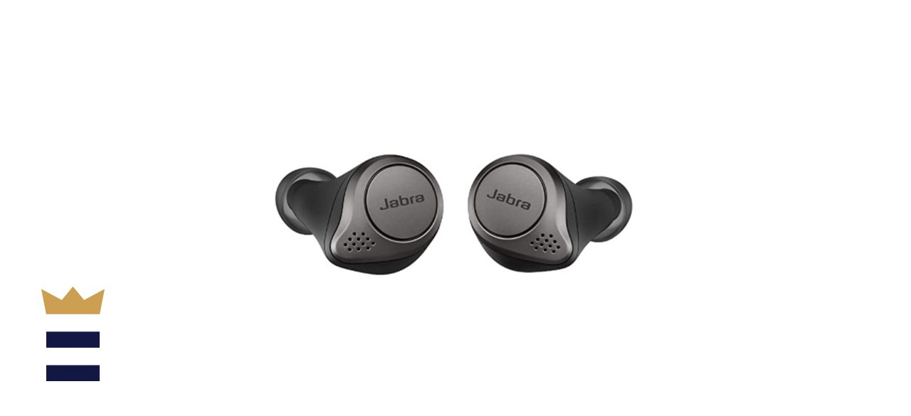 Jabra Elite 75t Earbuds with Charging Case