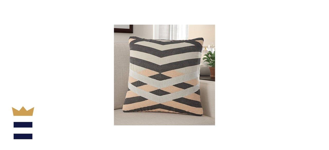 Jaipur Living Square Linen Pillow Cover & Insert