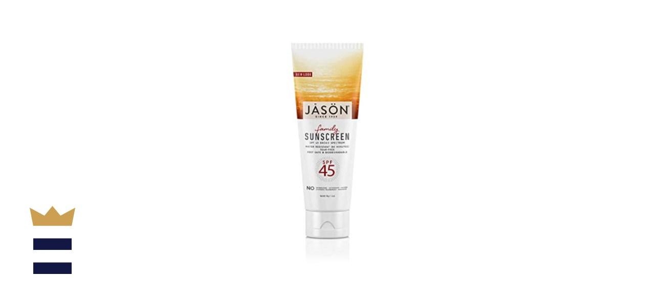 Jason Broad Spectrum SPF 45 Family Sunscreen