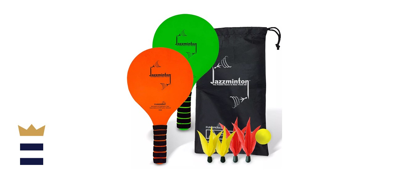 Fun Sparks Jazzminton Paddleball Set