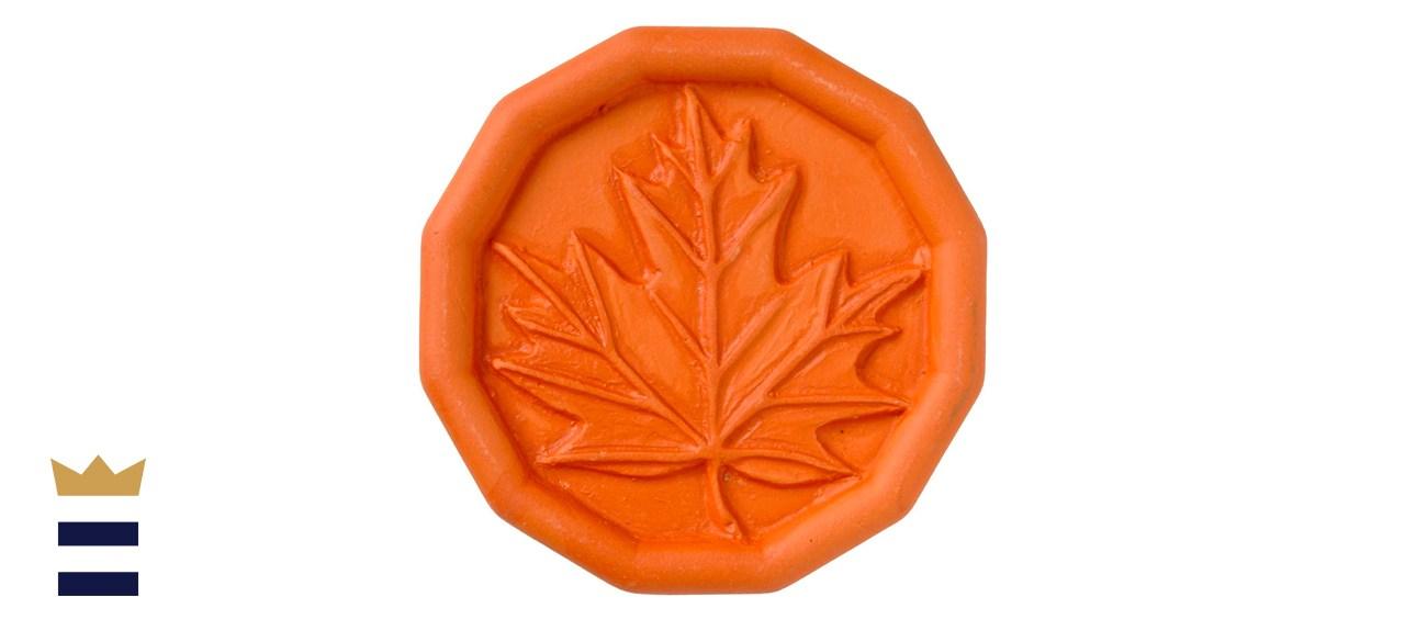 JBK's Maple Leaf Terra Cotta Brown Sugar Saver