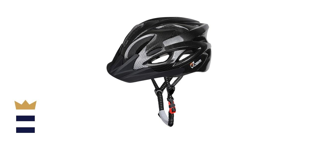 JBM International Adjustable Lightweight Helmet with Reflective Stripe