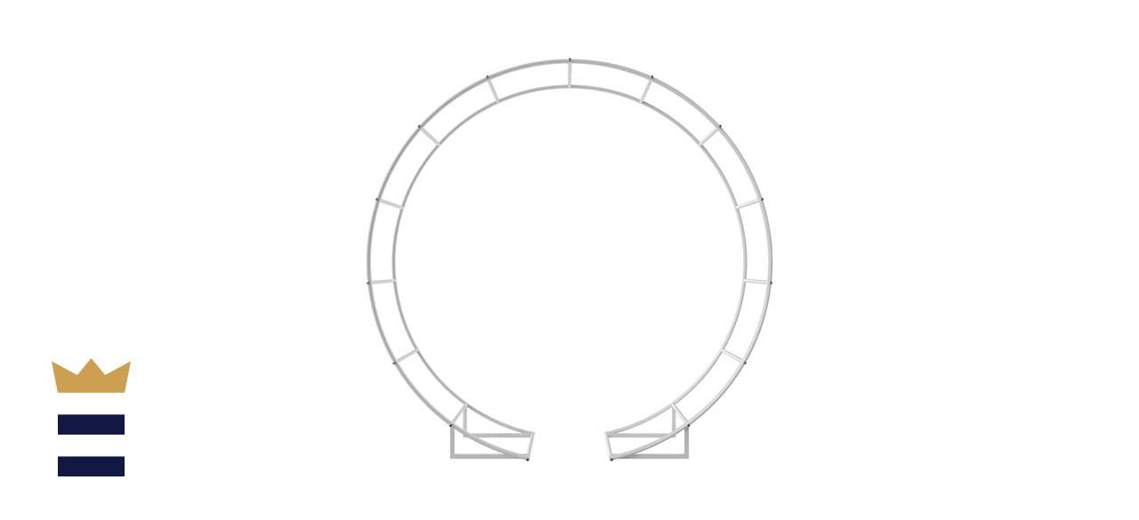 JC HUMMINGBIRD Round Metal Arch