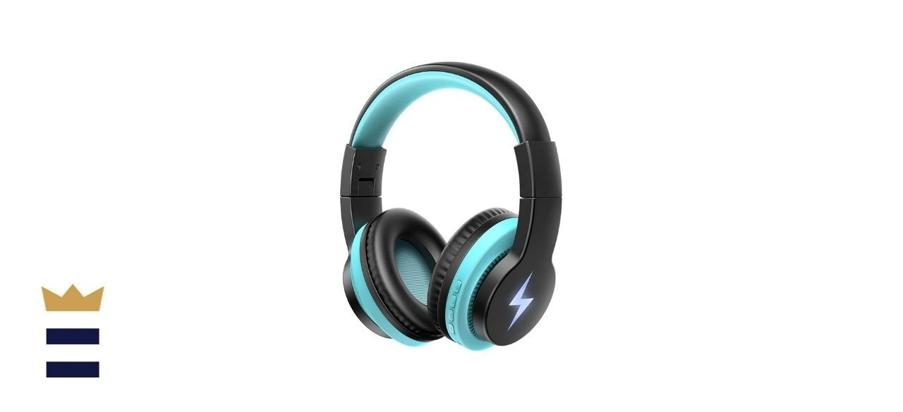 Jelly Comb Kids' Light-Up Bluetooth Headphones