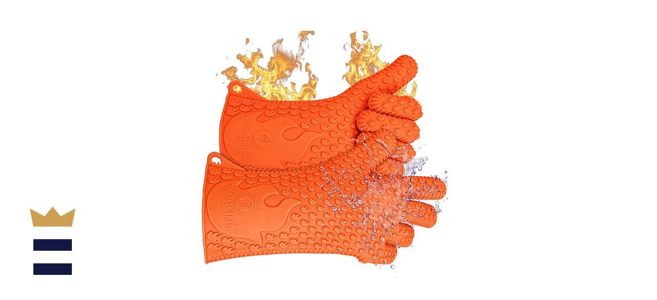Jolly Green Products Ekogrips Premium Heat-Resistant BBQ Gloves