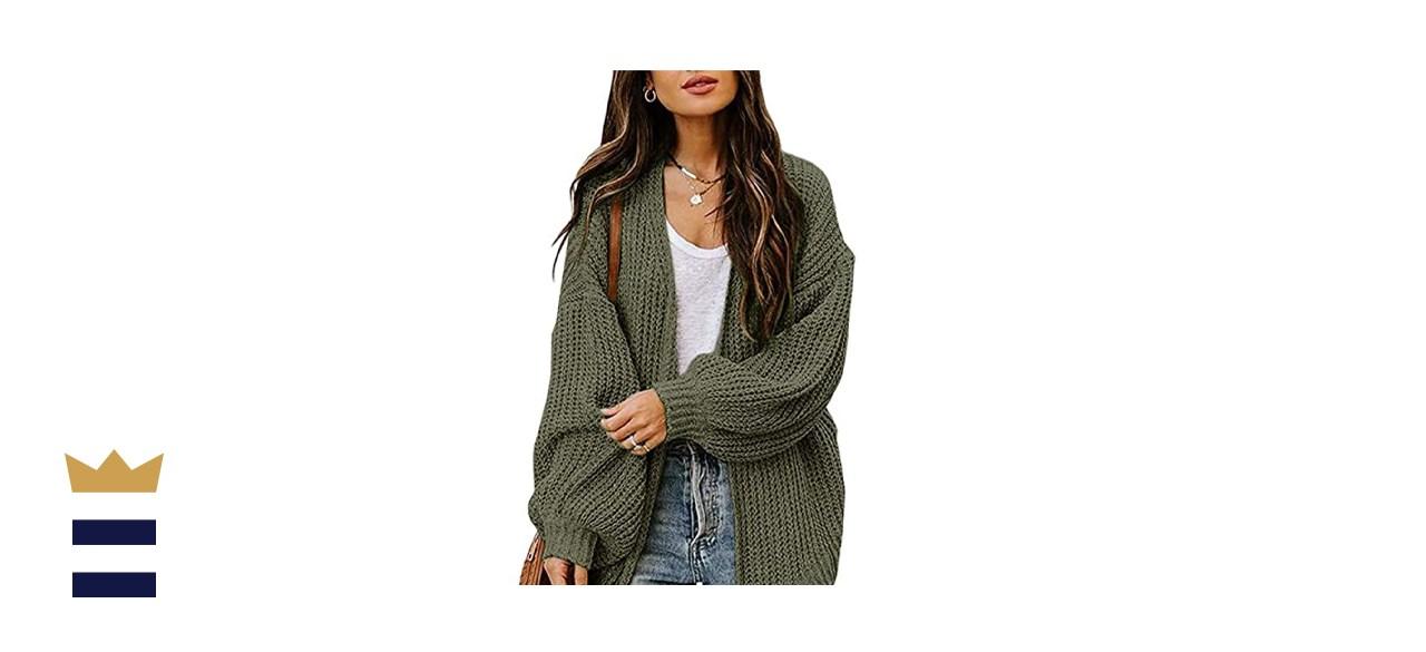 Jollycode Chunky Knit Cardigan
