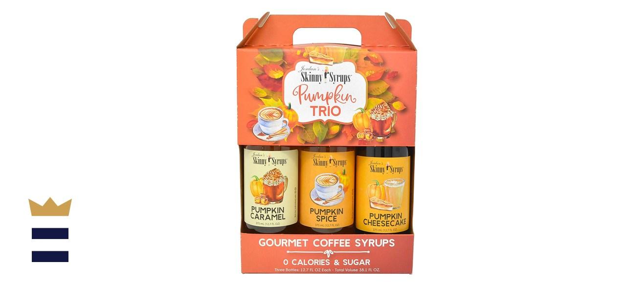 Jordan's Sugar-Free Skinny Syrups Pumpkin 3 Pack