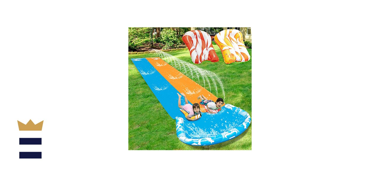 JOYIN 20ft x 62in Slip and Slide Water Slide with 2 Bodyboards