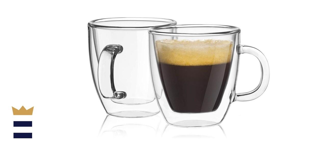 JoyJolt Double Insulated Espresso Mugs