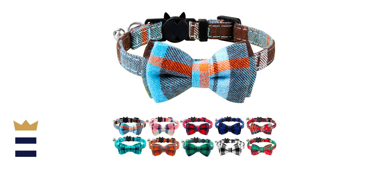 Joytale Breakaway Cat Collar with Bow Tie and Bell