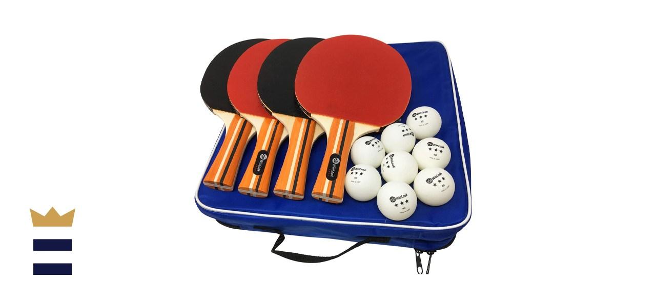 JP WinLook Pro Ping Pong Paddle Set