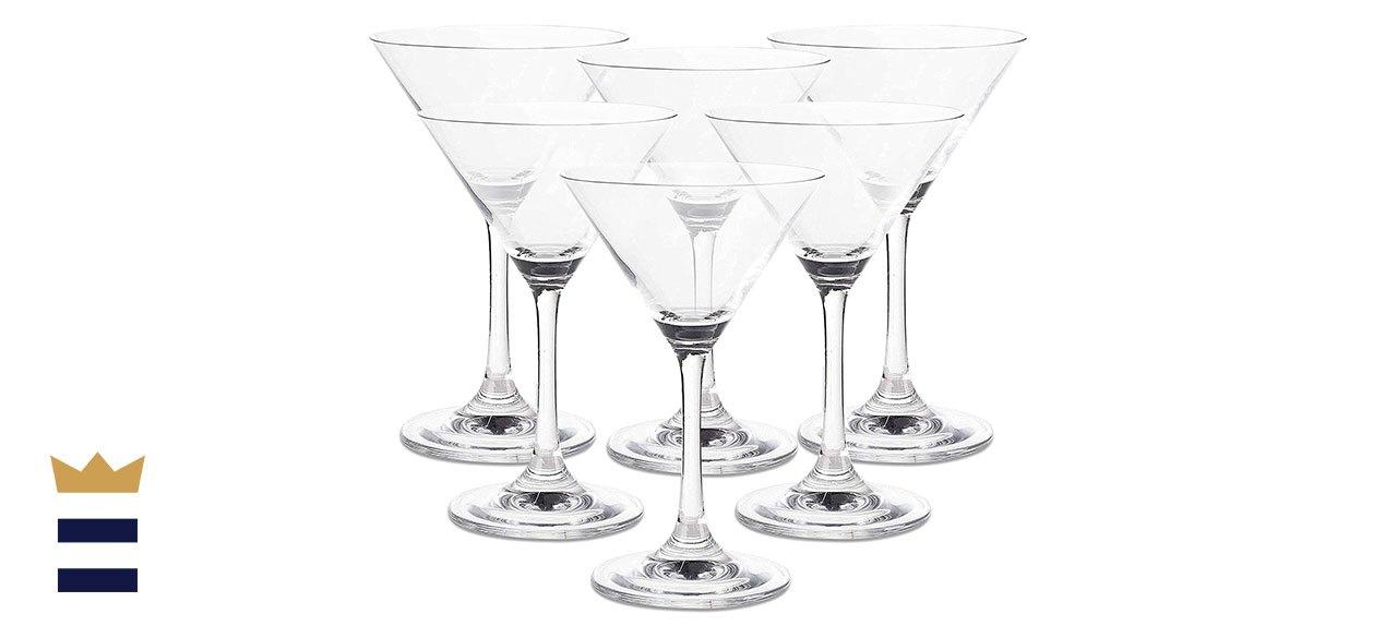 Juvale 5-ounce Martini Glasses, Set of 6