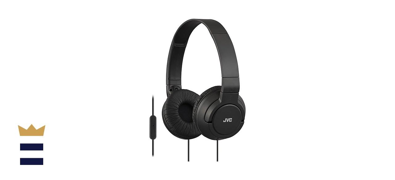 JVC Bass Headband Headphones with Smartphone Microphone