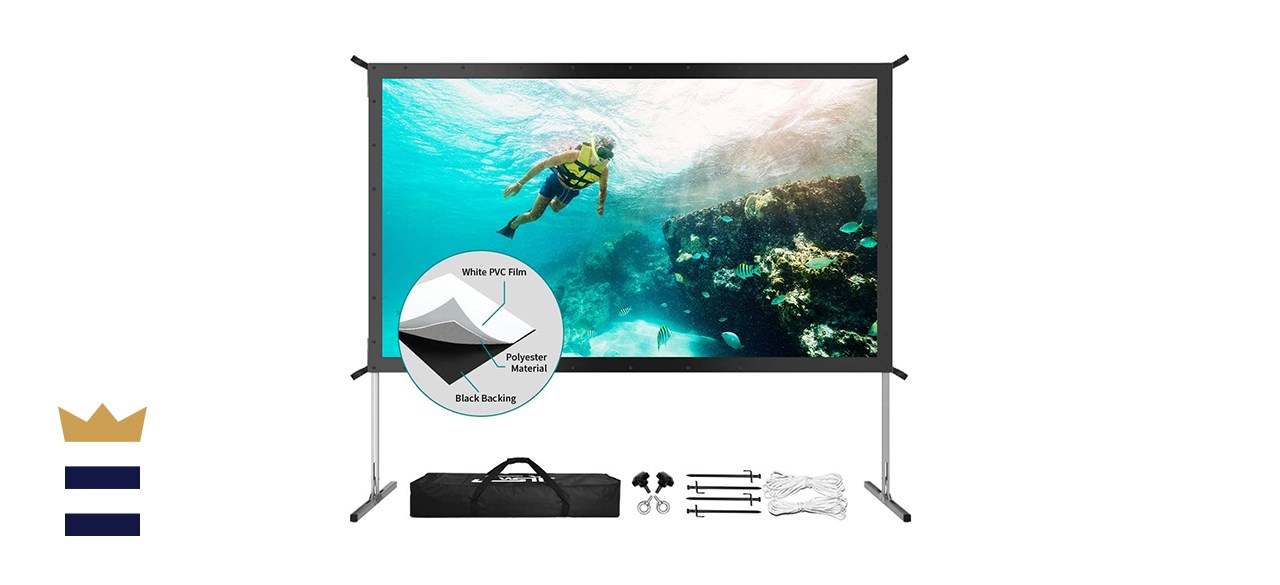 JWSIT 120-inch Projector Screen with Stand