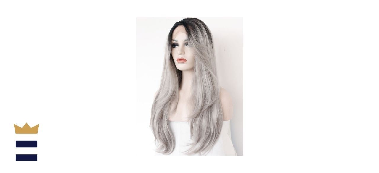 K'ryssma's Ombre Gray Lace Front Wig