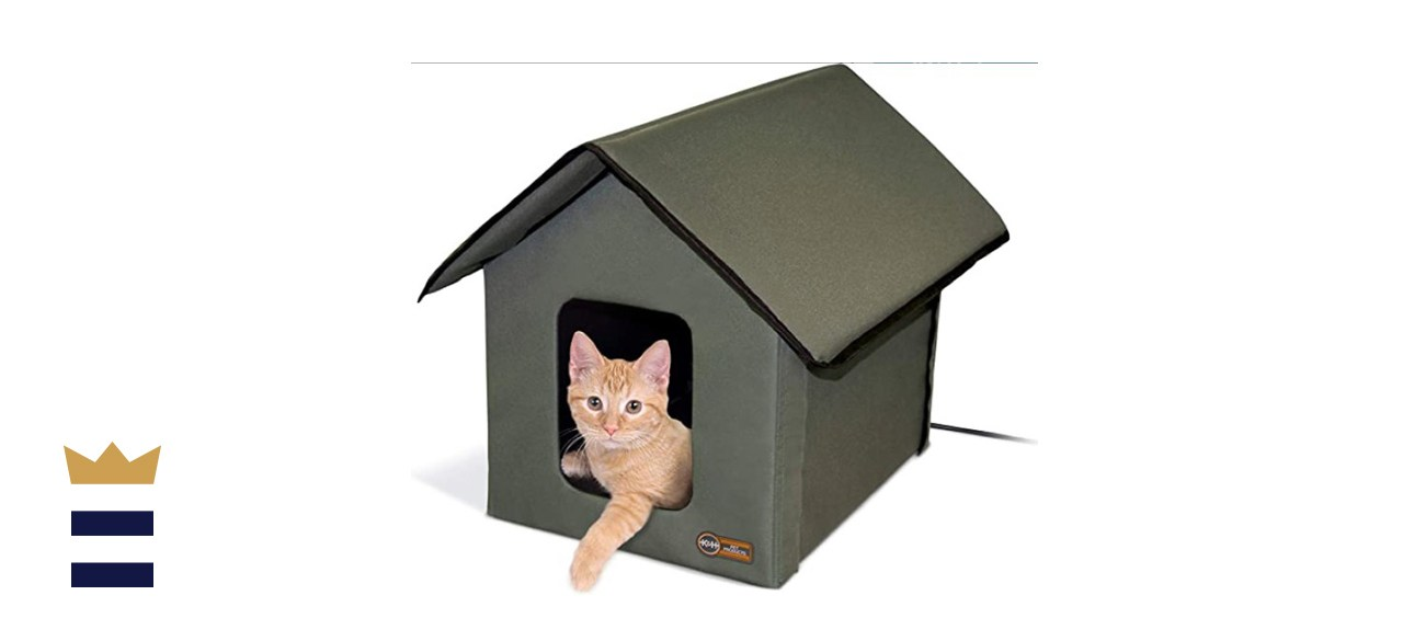 K&H Pet Products Heated Cat House