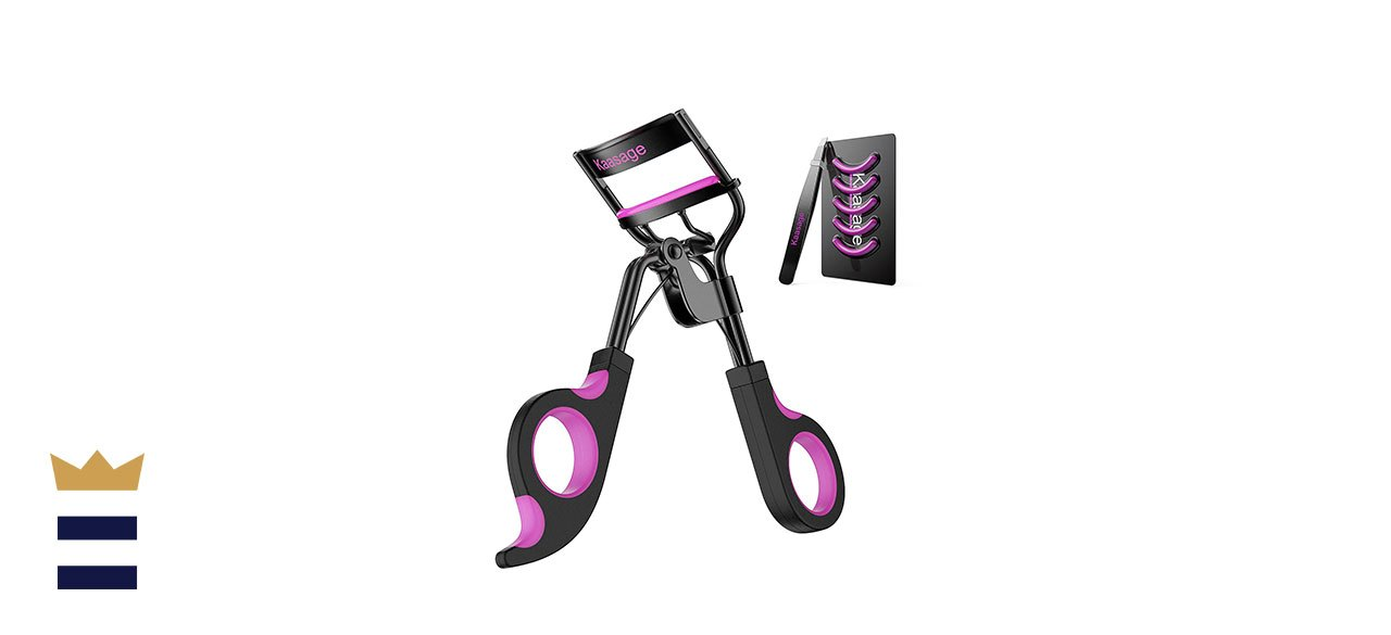 Kaasage Eyelash Curler with Advanced Silicone Refill Pads