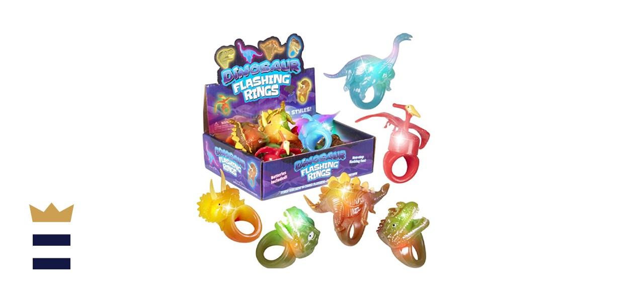 Kangaroo Jumbo Flashing Dinosaur Jelly Rings
