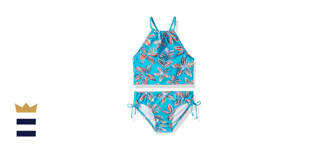 Kanu Surf Girls' Sport Halter Tankini Two-Piece Swimsuit