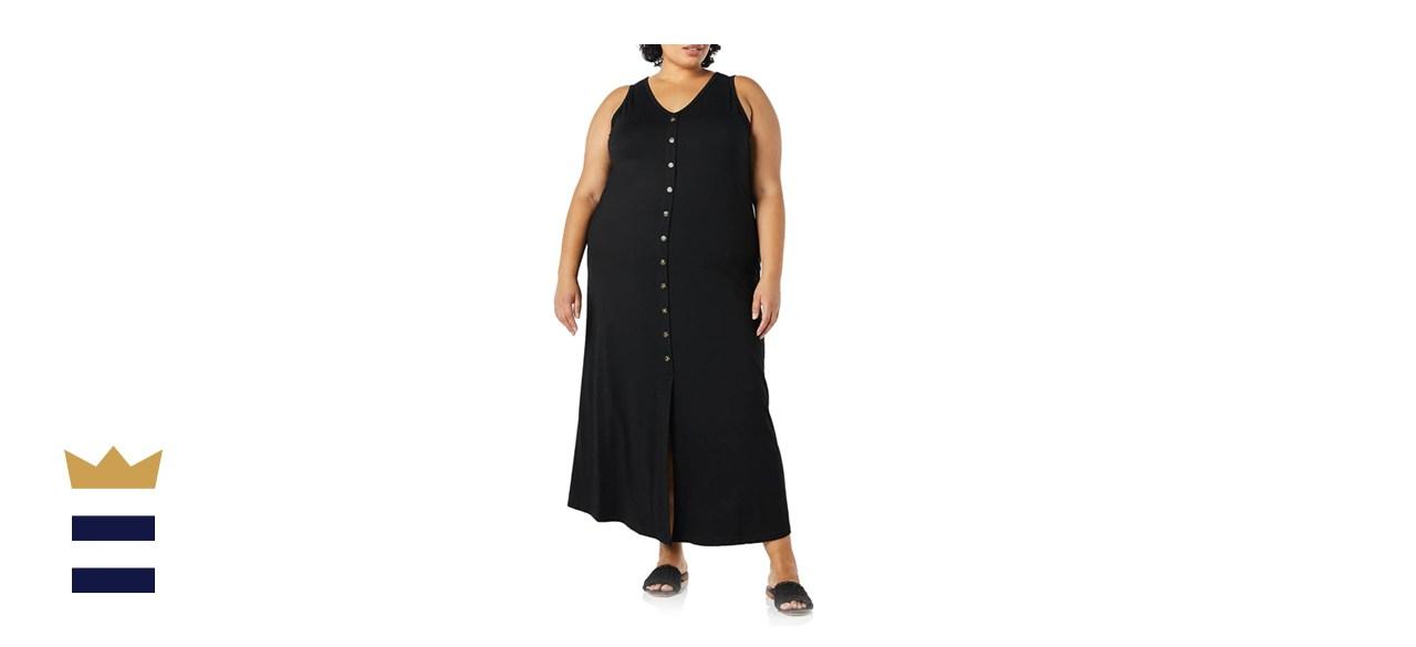 Karen Kane Button-up Alana Plus Size Maxi Dress