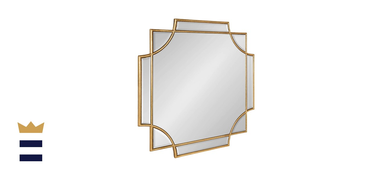 Kate and Laurel Minuette Glam Square Wall Mirror