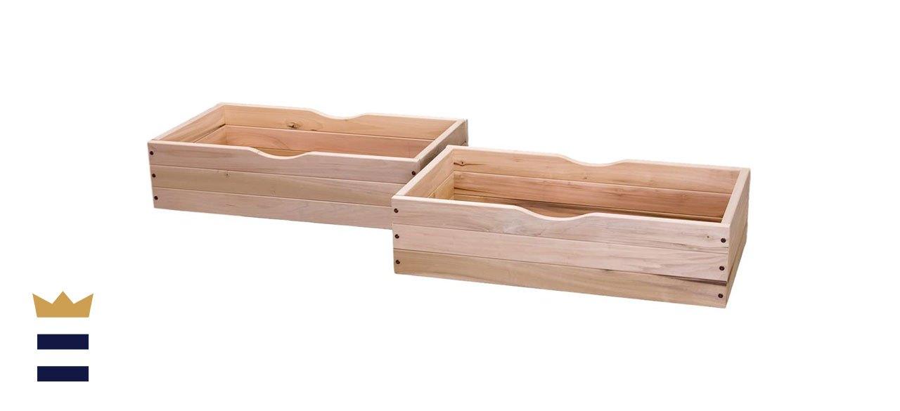 KD FramesRolling Under Bed Storage Drawer - Set of 2