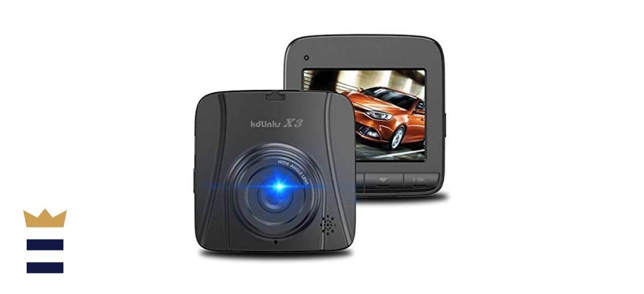 KDLINKS Full-HD Dashboard Camera