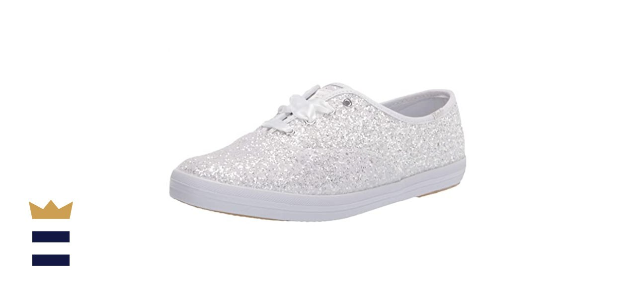 Keds x Kate Spade New York Bridal Champion Glitter Sneakers