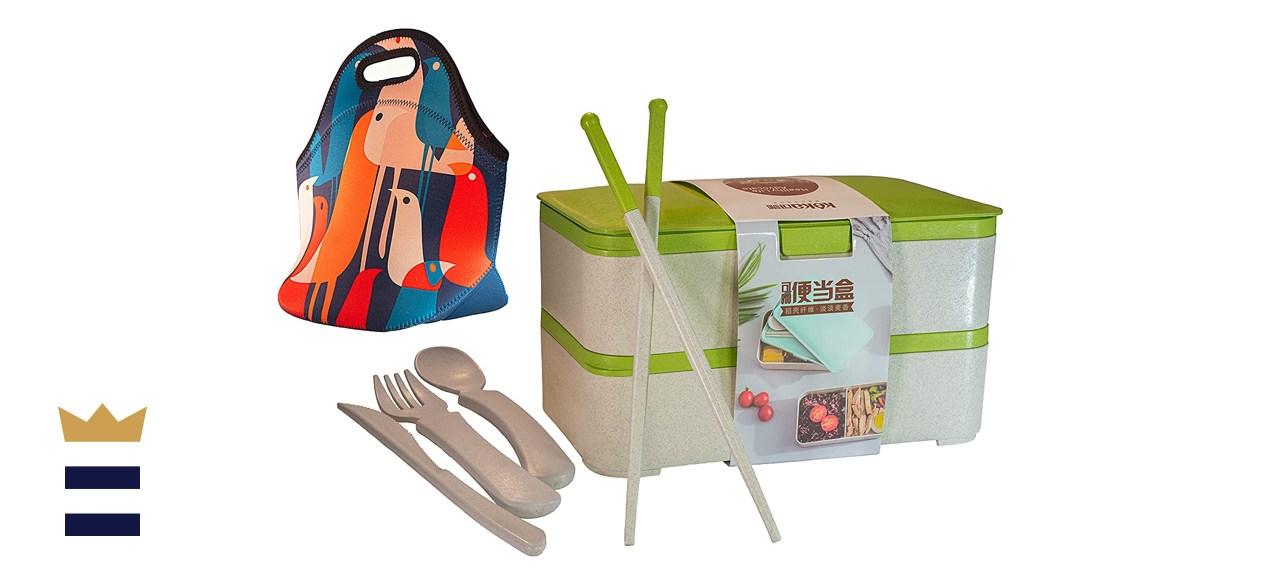 Keka Japanese Bento Lunch Box