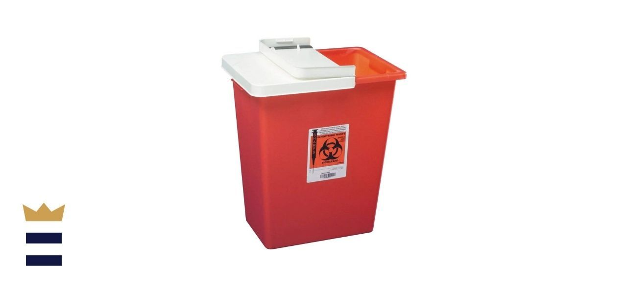 Kendall Healthcare's Sharps Container