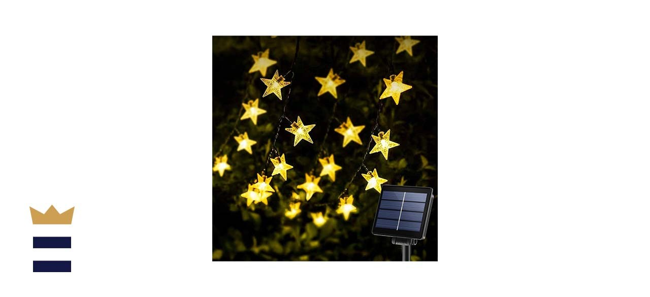 KeShi Star Solar Powered String Lights