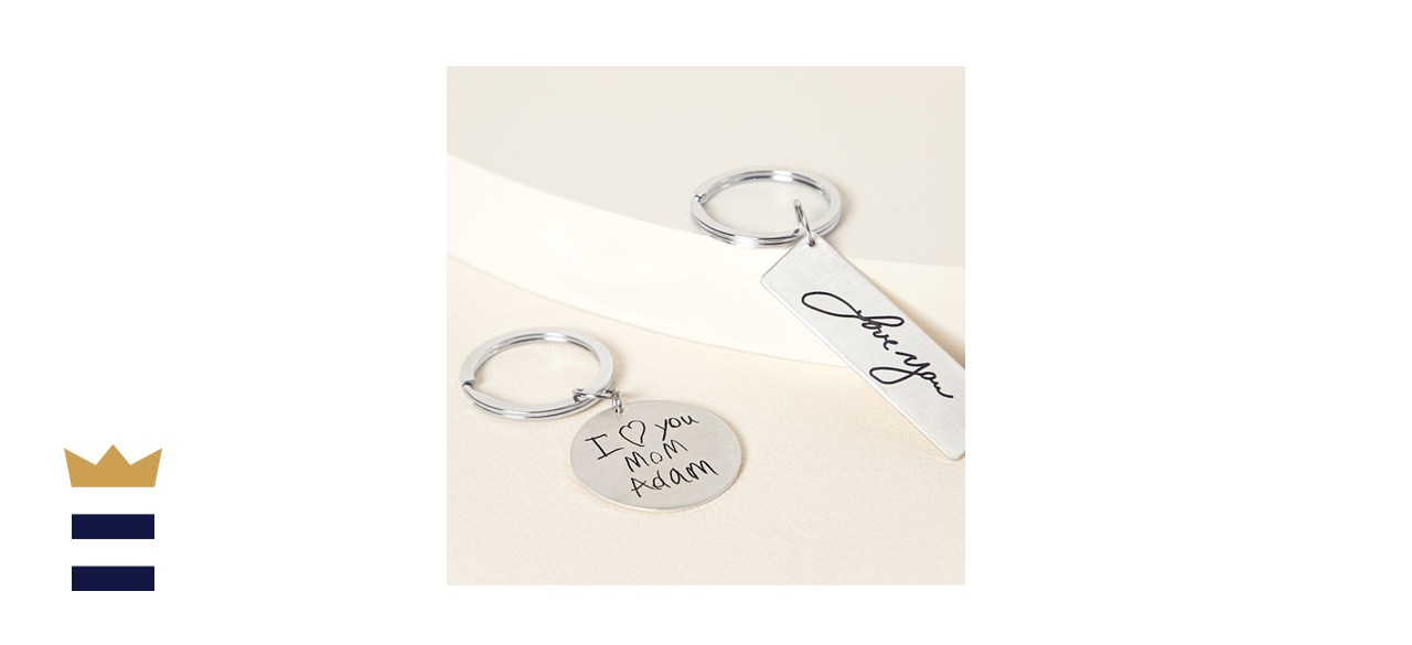 Handwritten Message Key Chain