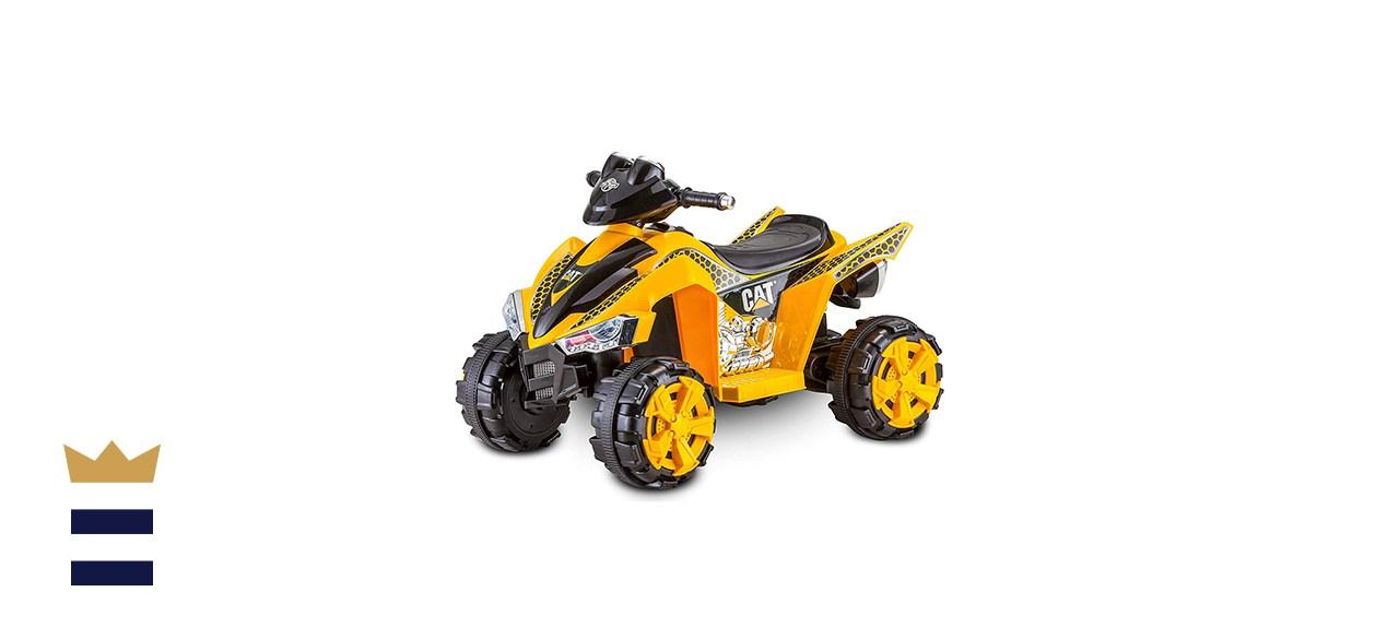 Kid Trax's Caterpillar ATV