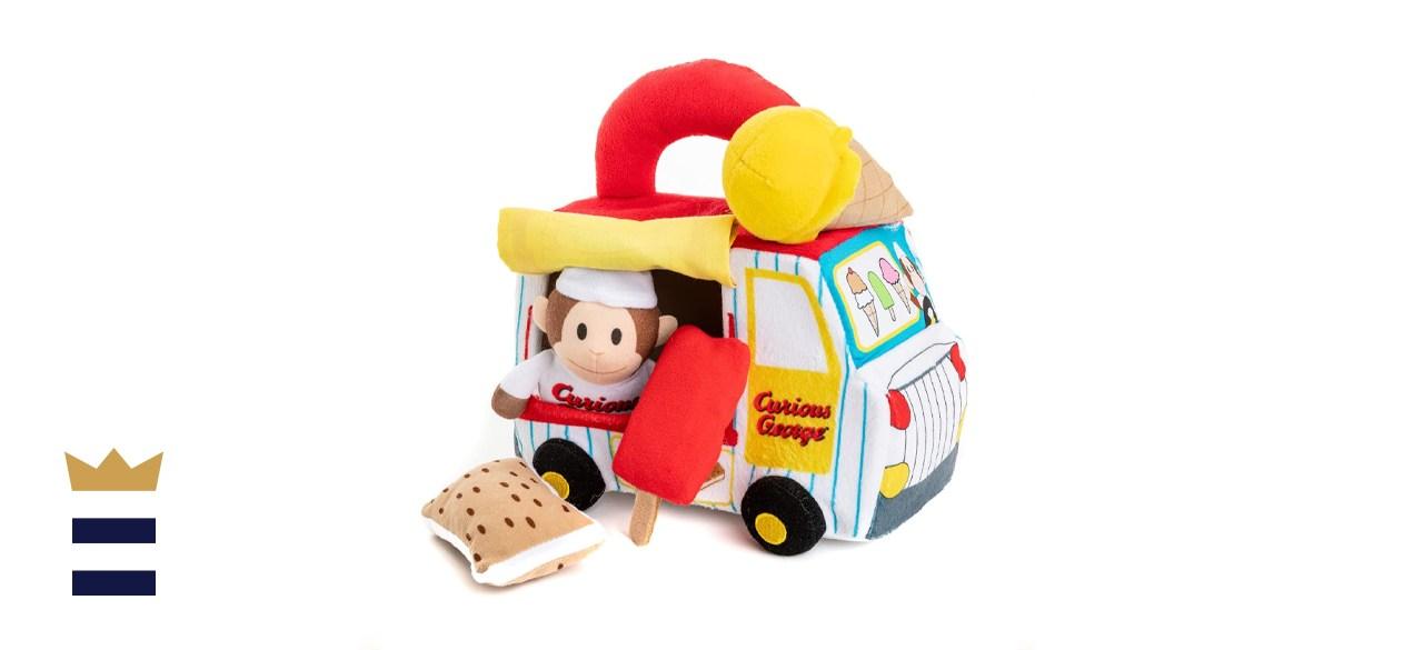 Kids Preferred Curious George Ice Cream Truck Playset