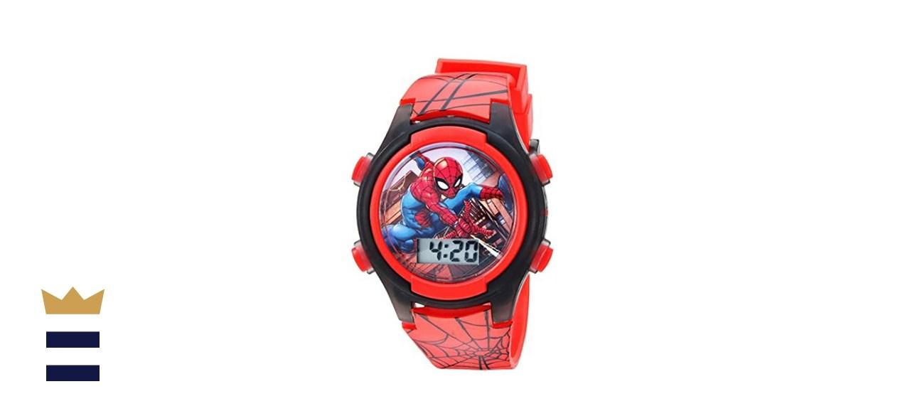 Kids Spiderman Light-Up Watch