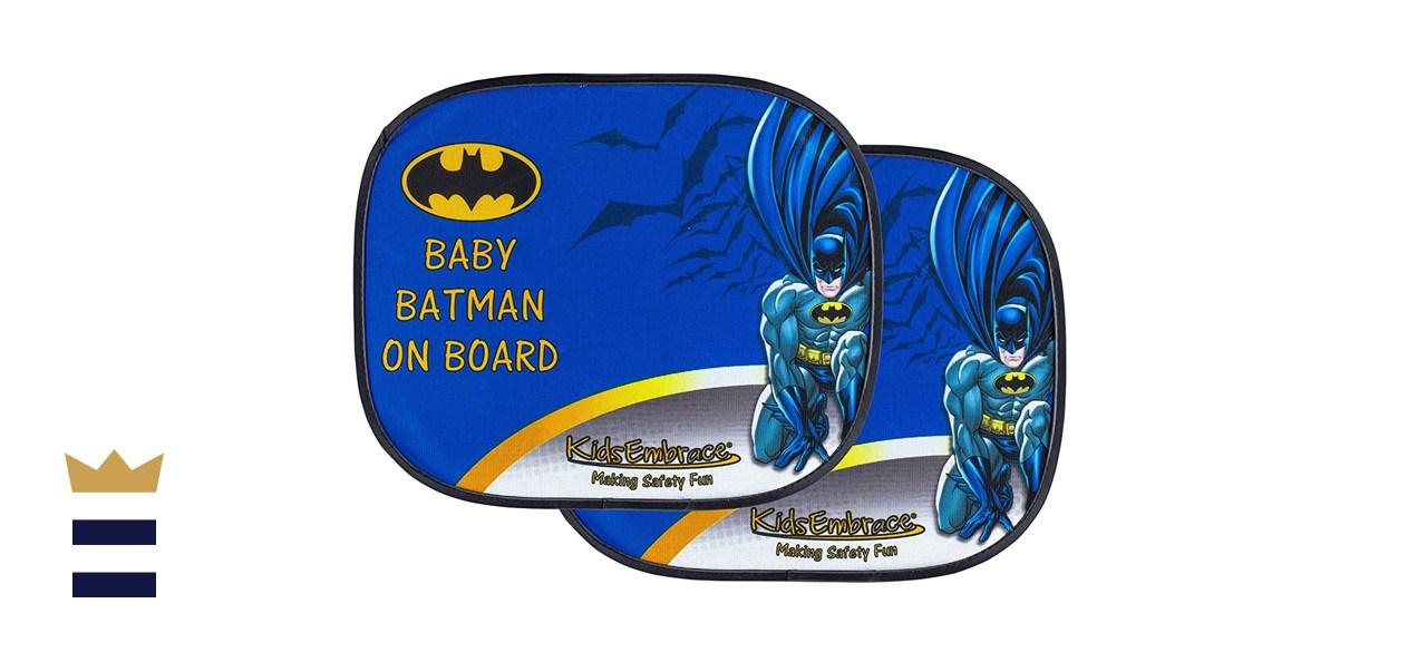 "KidsEmbrace DC Comics ""Baby Batman On Board"" Window Shades"
